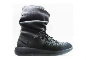 Nike Roshe Two Hi Flyknit Sneakerboot Black