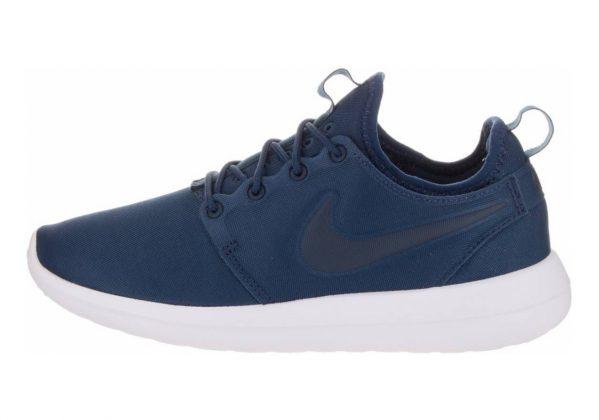 Nike Roshe Two Azul (Midnight Navy / Midnight Navy)