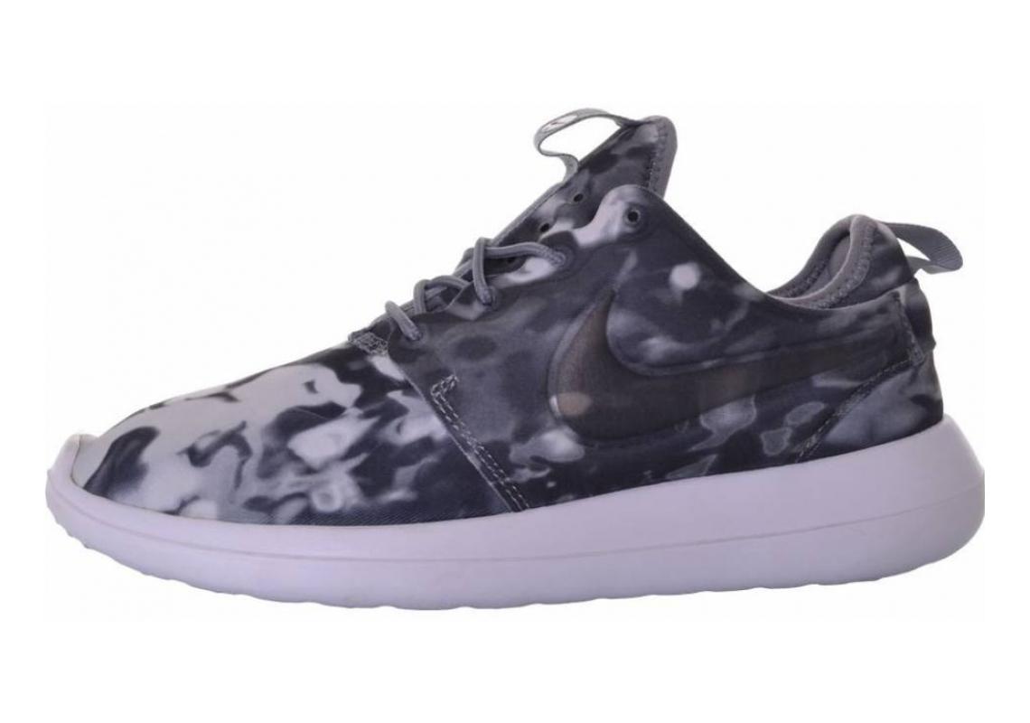 Nike Roshe Two Print Nero (Black / Wolf Grey-black-white)