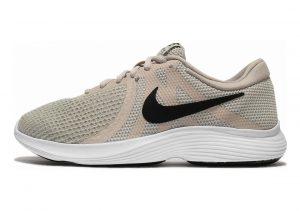 Nike Revolution 4 Light Bone/Black-pale Grey-white