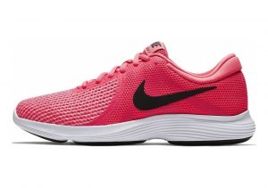 Nike Revolution 4 Racer Pink/Black Hot Punch Wht
