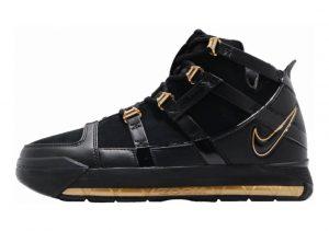 Nike Zoom LeBron 3 Black, Black-metallic Gold