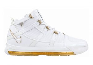 Nike Zoom LeBron 3 White/White-gold Dust