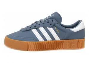 Adidas Samba Rose Raw Steel / Footwear White-gum 2
