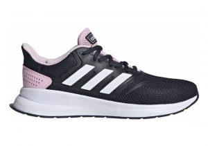 Adidas Runfalcon bleu marine/blanc/rose clair