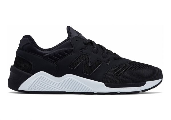 New Balance 009 Black with White