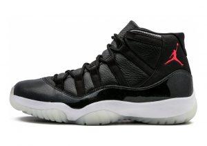 Air Jordan 11 Retro Black, Gym Red-white-anthracite