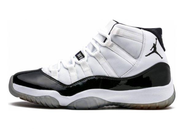 Air Jordan 11 Retro white, black-dark concord