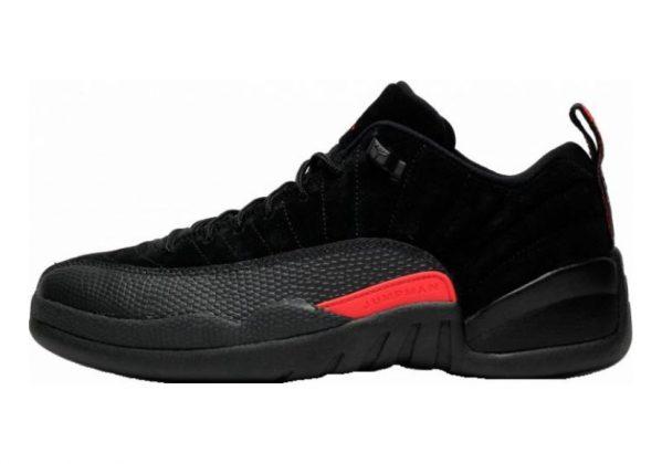 Air Jordan 12 Retro Low Black, Max Orange-anthracite