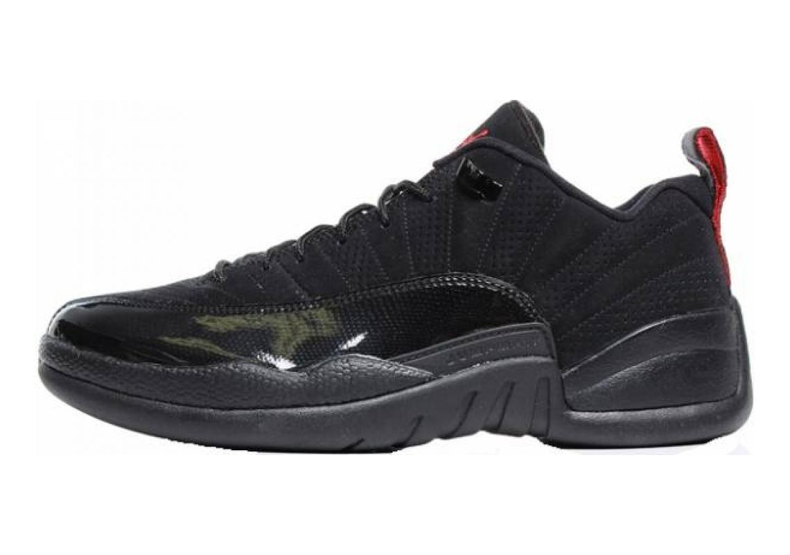 Air Jordan 12 Retro Low Black, Varsity Red