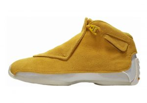 Air Jordan 18 Retro yellow ochre, yellow ochre-sail