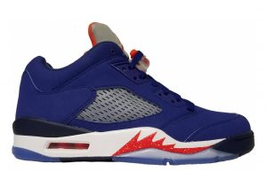 Air Jordan 5 Retro Deep Royal Blue/Team Orange/Midnight Navy