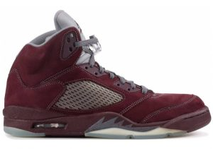 Air Jordan 5 Retro Deep Burgundy-light Graphite-silver