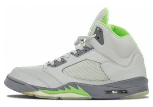 Air Jordan 5 Retro Silver, Green Bean-flint Grey