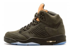 Air Jordan 5 Retro SEQUOIA/SEQUOIA-METALLIC GOLD