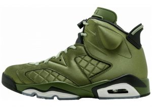 Air Jordan 6 palm green, palm green-black