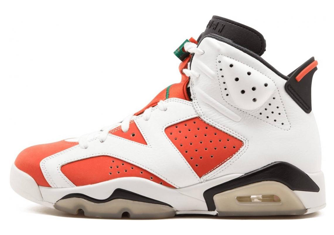 Air Jordan 6 Summit White, Team Orange-black