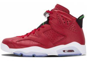 Air Jordan 6 varsity red, clssc grn-blck-wht