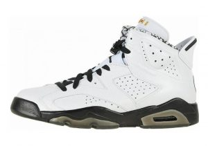 Air Jordan 6 White, Black