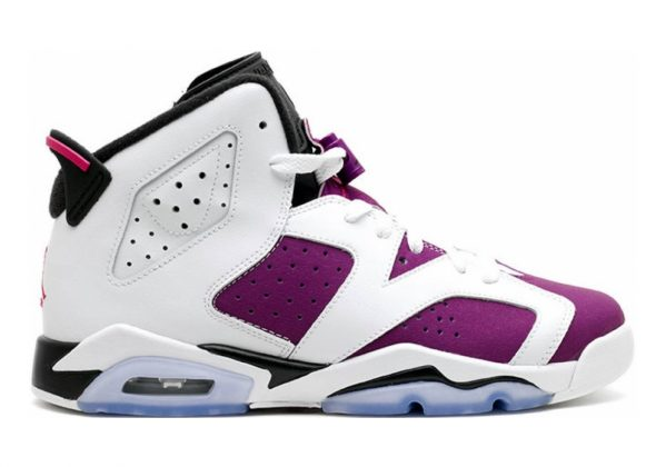 Air Jordan 6 White/Grape