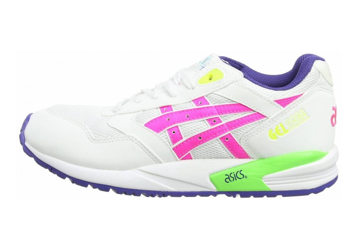 Asics Gel Saga White/Pink 120