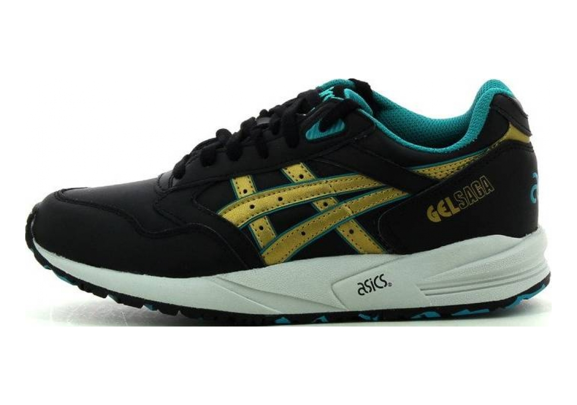 Asics Gel Saga - Black/Gold
