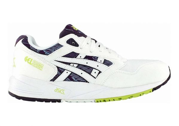Asics Gel Saga Multicolore (White,violet #0000001)
