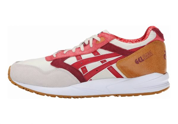 Asics Gel Saga Off White/Red