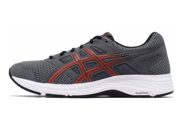 Asics Gel Contend 5 Steel Grey/Red Snapper