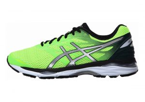 Asics Gel Cumulus 18 GREEN GECKO/SILVER/SAFETY YELLOW