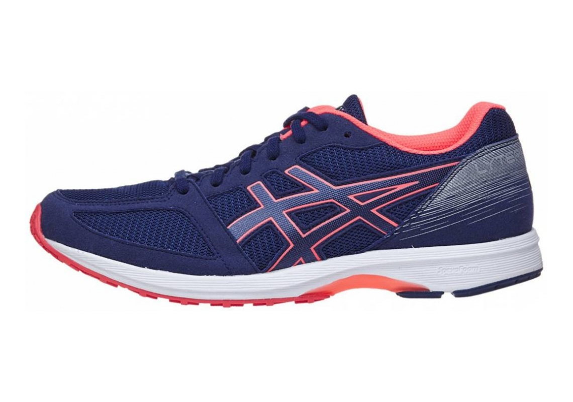 Asics LyteRacer TS 7 Indigo Blue/White/Flash Coral
