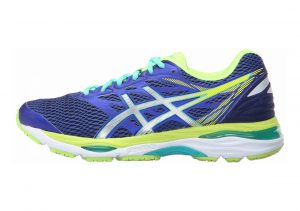 Asics Gel Cumulus 18 Asics Blue/Silver/Safety Yellow