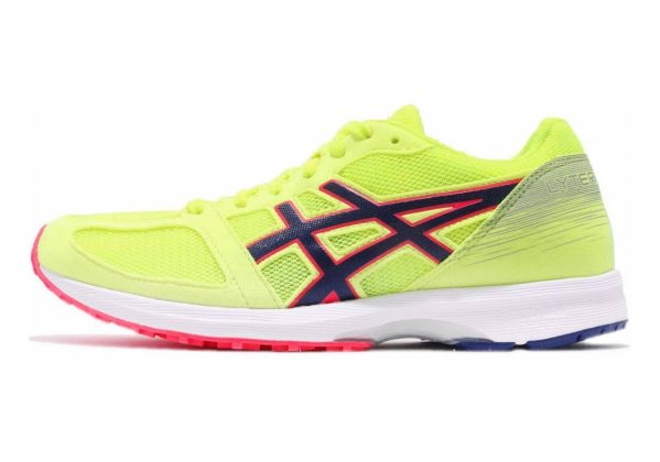 Asics LyteRacer TS 7 Flash Yellow/Blue Print