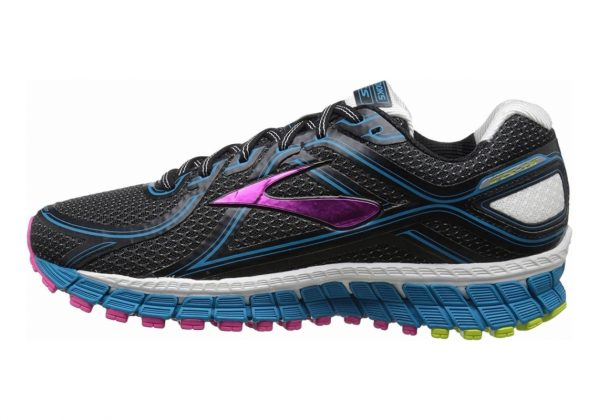 Brooks Adrenaline GTS 16 Black/AtomicBlue/LimePunch