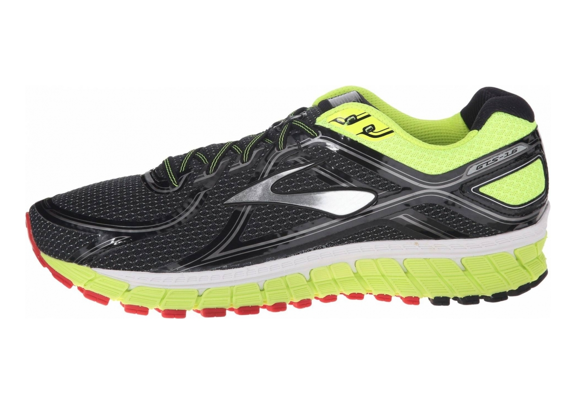 Brooks Adrenaline GTS 16 Black/Nightlife/High Risk Red