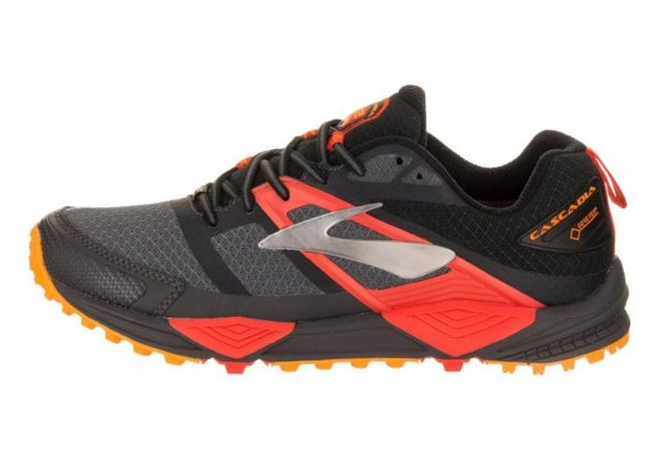 Brooks Cascadia 12 GTX Black/Red
