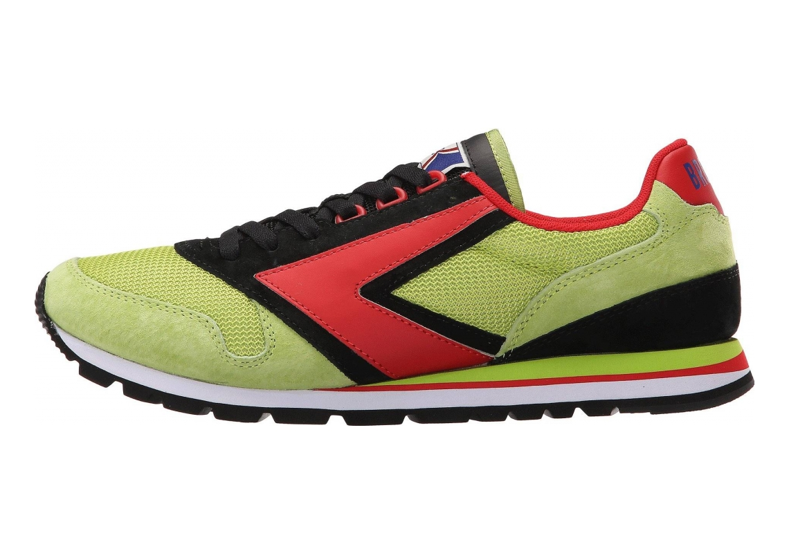 Brooks Chariot Heritage Black/Green/Lime/Red
