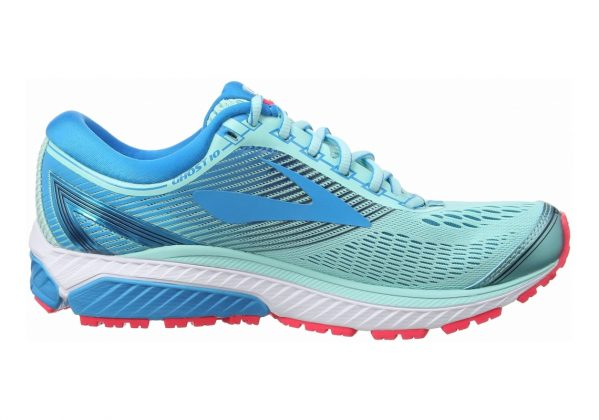 Brooks Ghost 10 Turquoise (Mint/Blue/Pink 1b462)