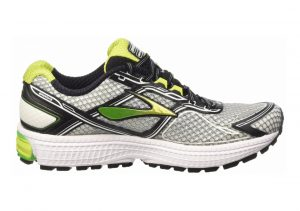 Brooks Ghost 8 Silver/Classic Green/Lime Punch