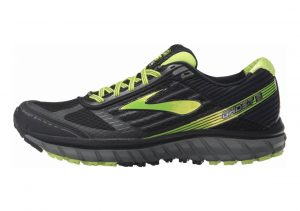 Brooks Ghost 9 GTX Black (Black/Castlerock/Lime Punch 059)