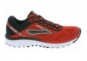 Brooks Ghost 9 Red