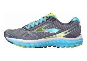 Brooks Ghost 9 Multicolor (Silver/Blue/Lime)