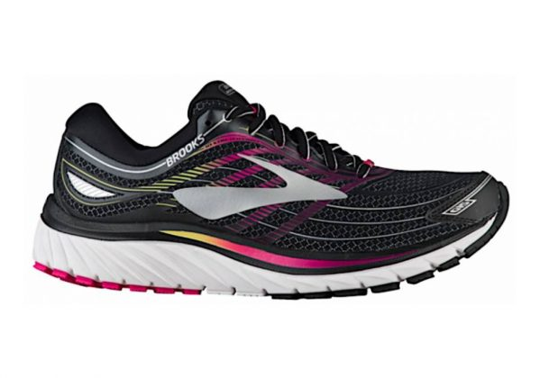 Brooks Glycerin 15 Black/Pink Peacock/Plum Caspia