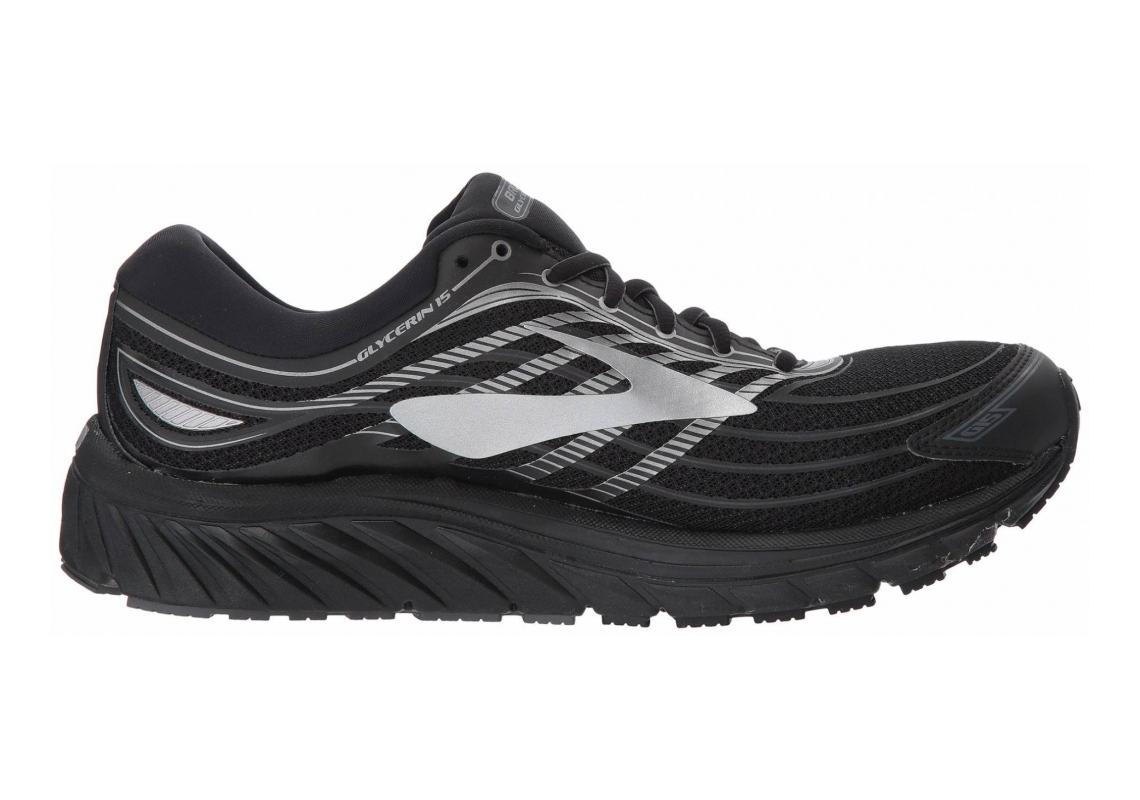 Brooks Glycerin 15 Black/Silver/Grey