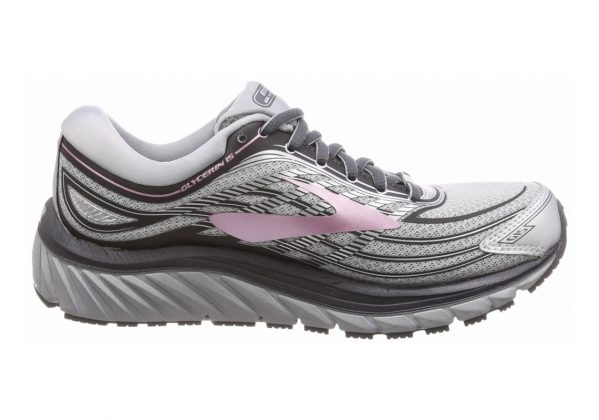Brooks Glycerin 15 SILVER/GREY/ROSE