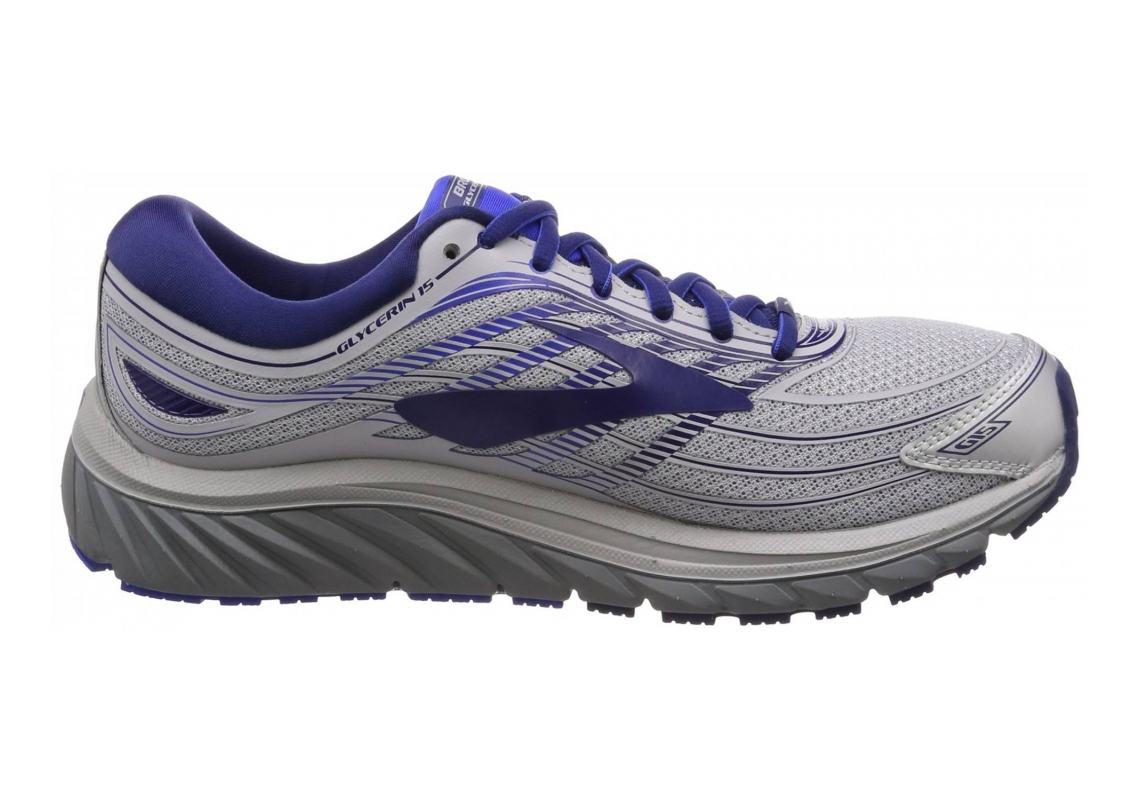 Brooks Glycerin 15 Silver/Navy/Blue