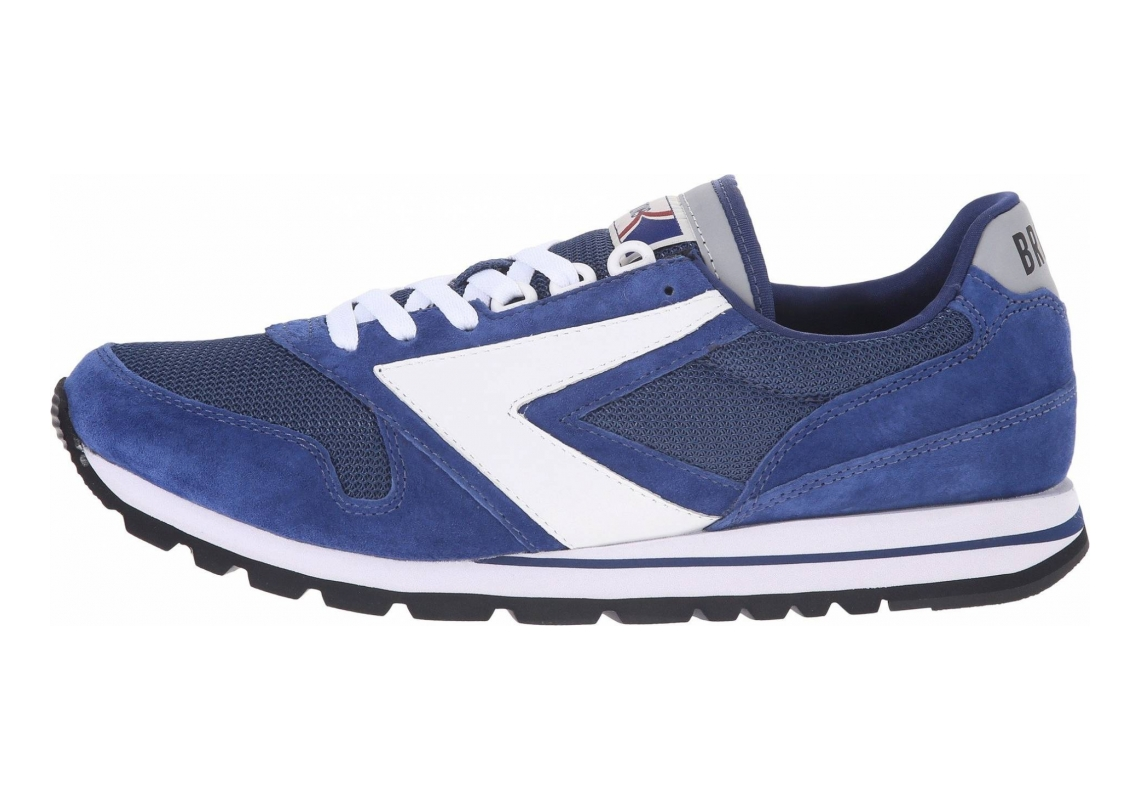Brooks Chariot Heritage Navy Blue/White