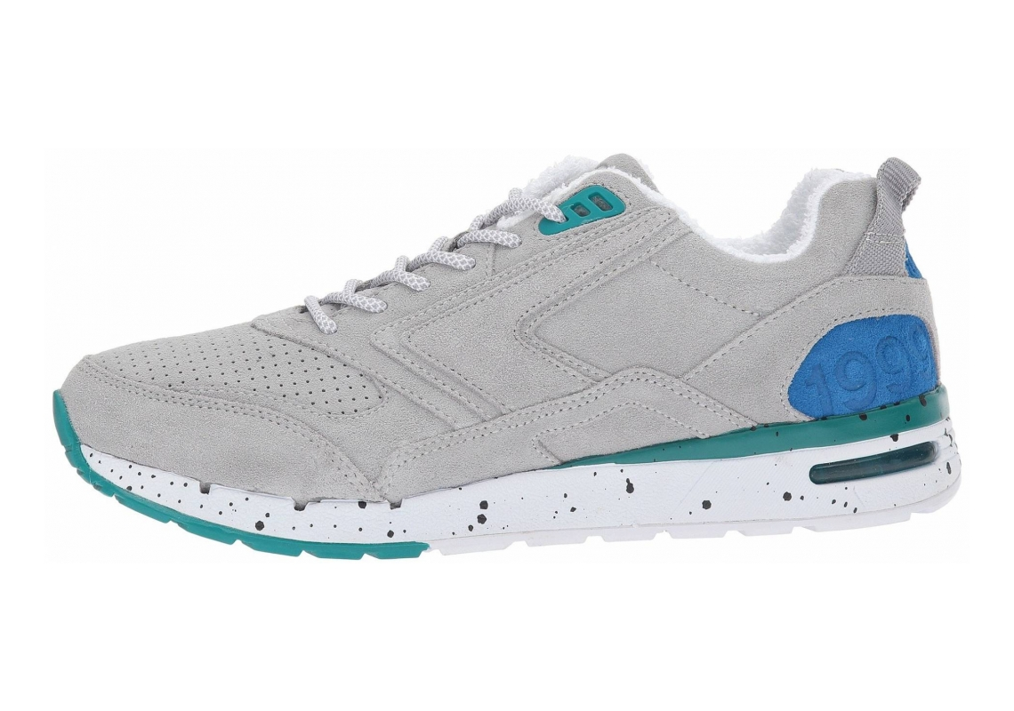 Brooks Fusion Light Grey/Dark Grey/Blue/Teal