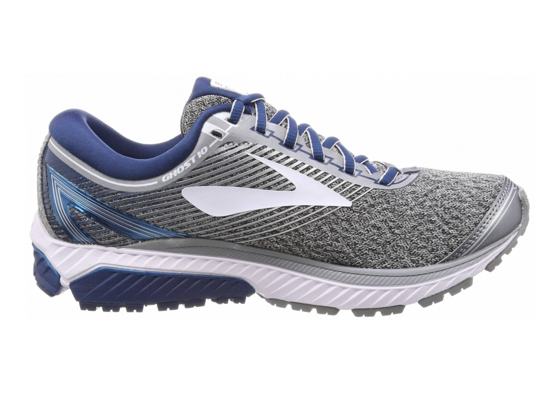 Brooks Ghost 10 Silver/Blue/White