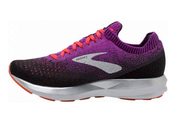Brooks Levitate 2 Purple / Fiery Coral / Black